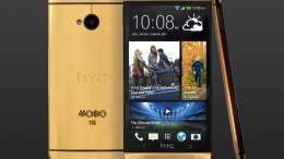 Gold Plated HTC One is Rare, Costly, and Pretty Ugly
