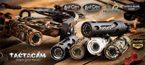 TACTACAM Bow Stabilizer Brings HD Video To Your Bow