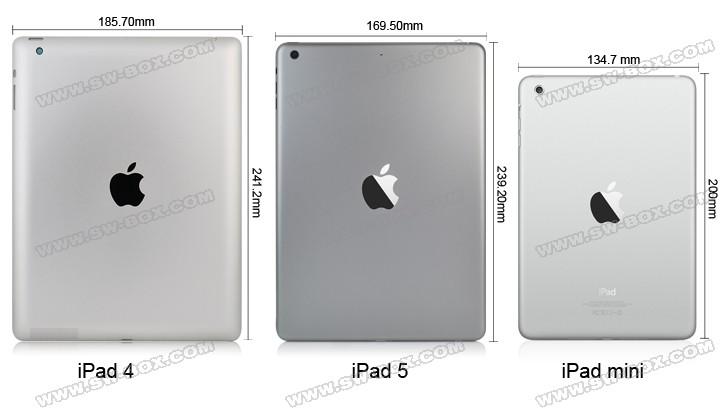 iPad 5 Rumored Changes