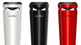 SpeeCup Review - Bluetooth Speaker Takes the Shape of a Travel Mug
