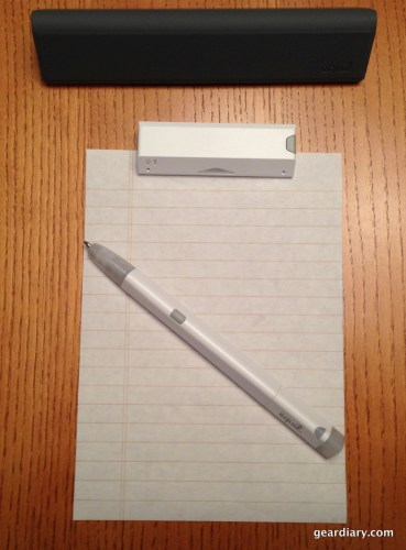 The Jot, ready to write.