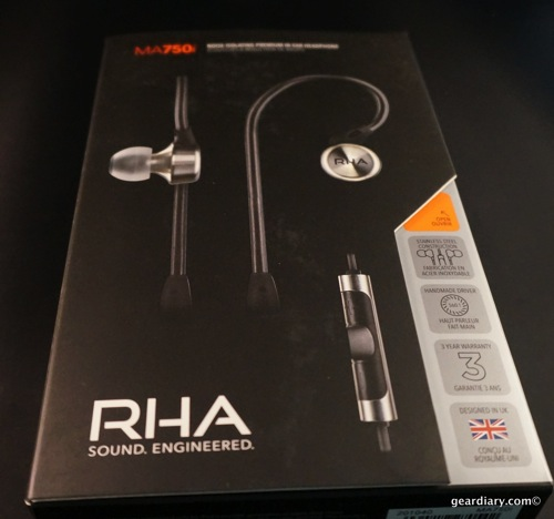 RHA MA750i In-Ear Headphones Review- Metal for Listening to Your Heavy Metal