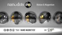 GearDiary Nanodots GYRO are Safe Magnetic Toys for the Kid in All of Us