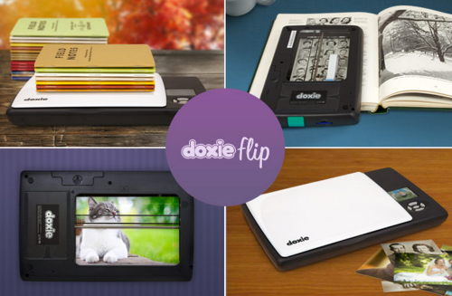 Doxie Flip Is a New Battery Powered Mobile Scanner That Can Scan Anything and Everything