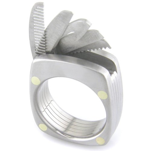 The Man Ring - Solid Titanium Tools You'll Always Have with You!
