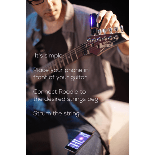 Roadie Tuner, The Ultimate Guitarist Tool Kickstarter Project