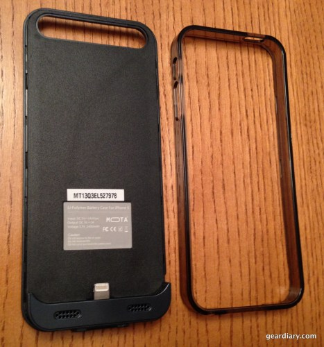 Mota Battery case for iPhone 5/5s Review - Great Battery Capacity in a Slim Form  Mota Battery case for iPhone 5/5s Review - Great Battery Capacity in a Slim Form