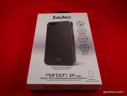 GearDiary Evutec Karbon SP Series for iPhone 5S Looks Like Carbon Fiber Protects Like Kevlar