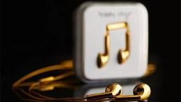 Happy Plugs 18K Solid Gold In-Ear Earphones