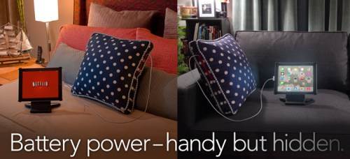 Power Pillow, Take A Nap, Charge Your Phone  Power Pillow, Take A Nap, Charge Your Phone