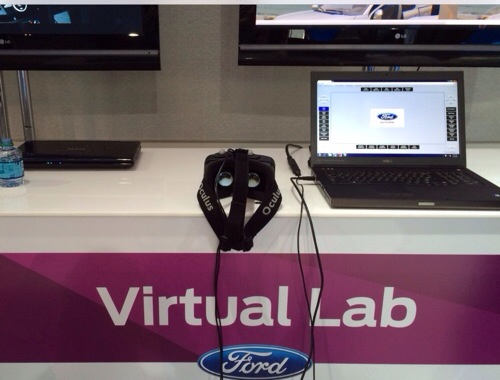 Ford Uses the Oculus Rift HD to Bring VR into the Design Studio #FordNAIAS