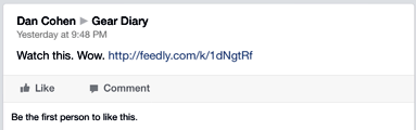 How Do You Feel About Feedly 'Hijacking' Shared Links?