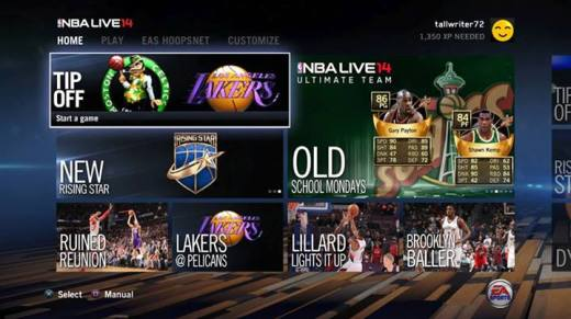 NBA Live 14 on PlayStation 4 Review  NBA Live 14 on PlayStation 4 Review