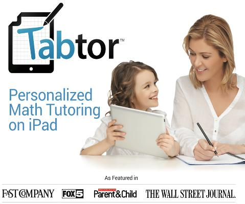 Tabtor Personal Math Tutoring
