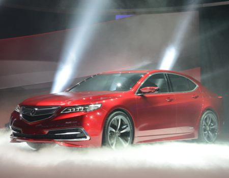 Acura rolled out its TLX Sedan prototype