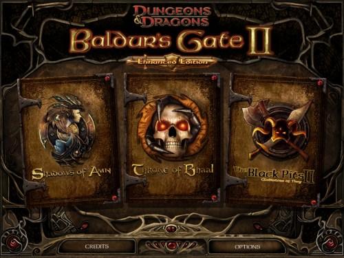 Baldur's Gate II Enhanced Edition for iPad Now Available