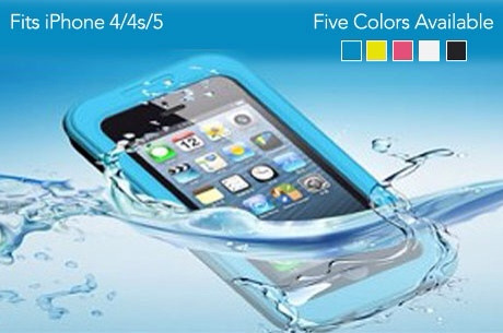 GearDiary Lotus Waterproof Case for iPhone 4S/5/5S for only $12!