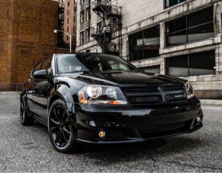 Worksheet. 2014 Dodge Avenger  Blacktop is the new Black Tie  GearDiary
