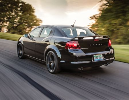 2014 Dodge Avenger  Blacktop is the new Black Tie  GearDiary