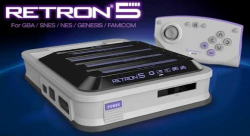 Hyperkin's Five-in-One Retro Gaming Console