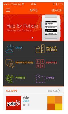 Pebble App Store 1