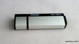GearDiary Toshiba TransMemory Pro 128GB USB 3.0 Flash Drive
