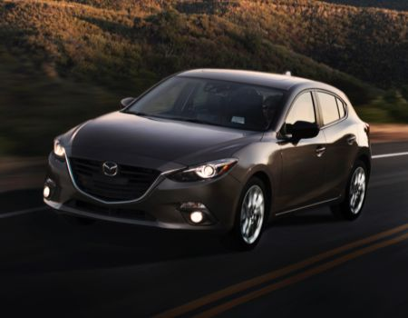 2014 Mazda3/Images courtesy Mazda
