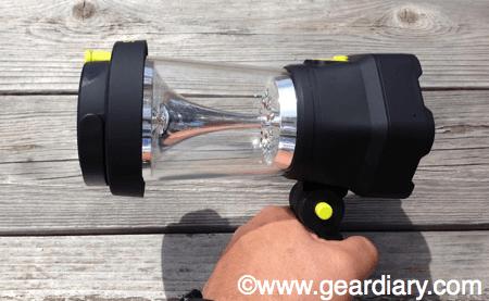 Secur Dynamo Spotlight Lantern Review
