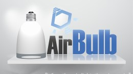 Airbulb LED Light Bulb and Bluetooth Wireless Speaker is Now Funding on Kickstarter