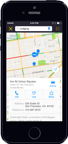 Scout for iPhone App Updated to Include In-Route Suggestions