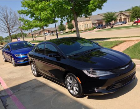 2015 Chrysler 200/Images by Author