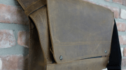 "WaterField Unveils the 15"" Rough Rider Leather Messenger Bag"