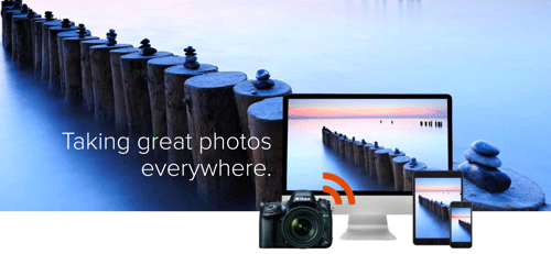 Let Your Pictures Take to the Sky with Eyefi Cloud