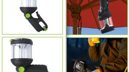 GearDiary Light Up Your World with the Blackfire Clamplight Lantern