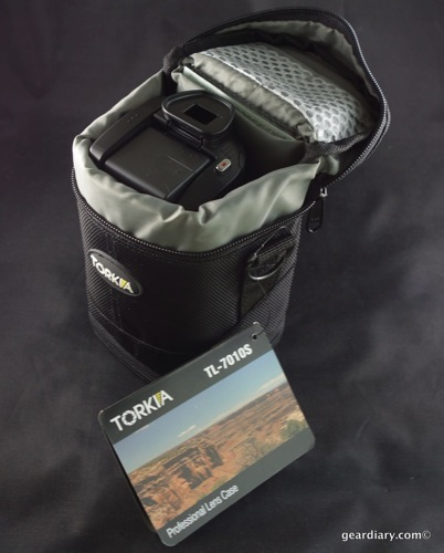 The Case for the Torkia TL-7010S Professional Lens Case