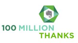 GearDiary Evernote Tops 100 Million Users! #Evernote
