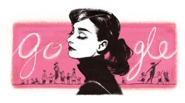 Audrey Hepburn Is One Glamorous Google Doodle