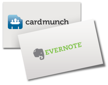 Evernote Is the New Destination for LinkedIn's CardMunch Users
