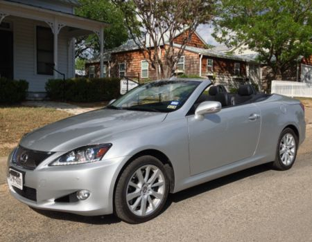Images by Author/2014 Lexus IS 350C