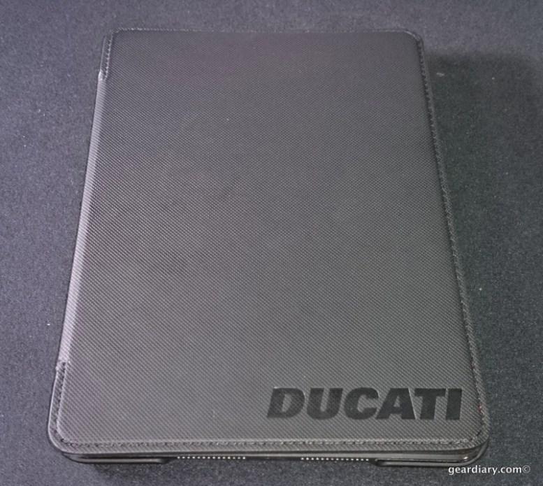 Element Case Soft-Tec Ducati Folio for iPad Mini - Hot Protection!
