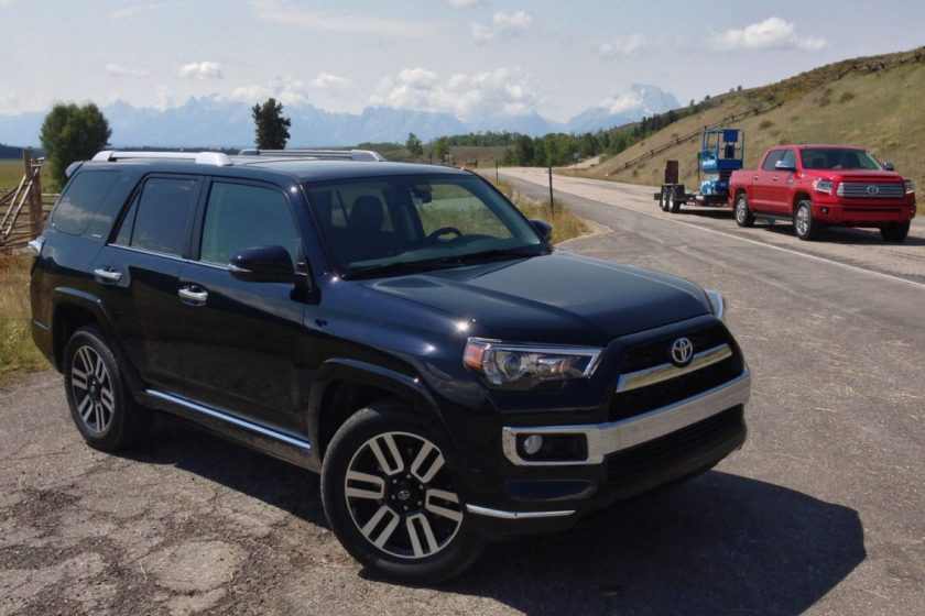 2014 Toyota 4Runner/Images by David Goodspeed