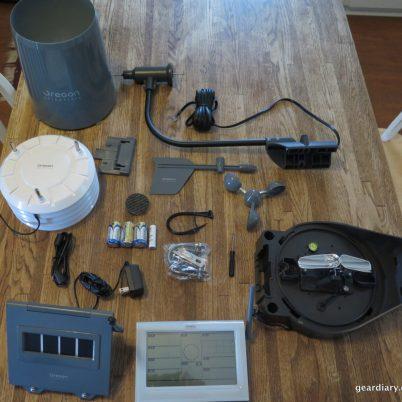 Gear Diary Oregon Scientific Ultra Precision Professional Weather Station WMR300-001