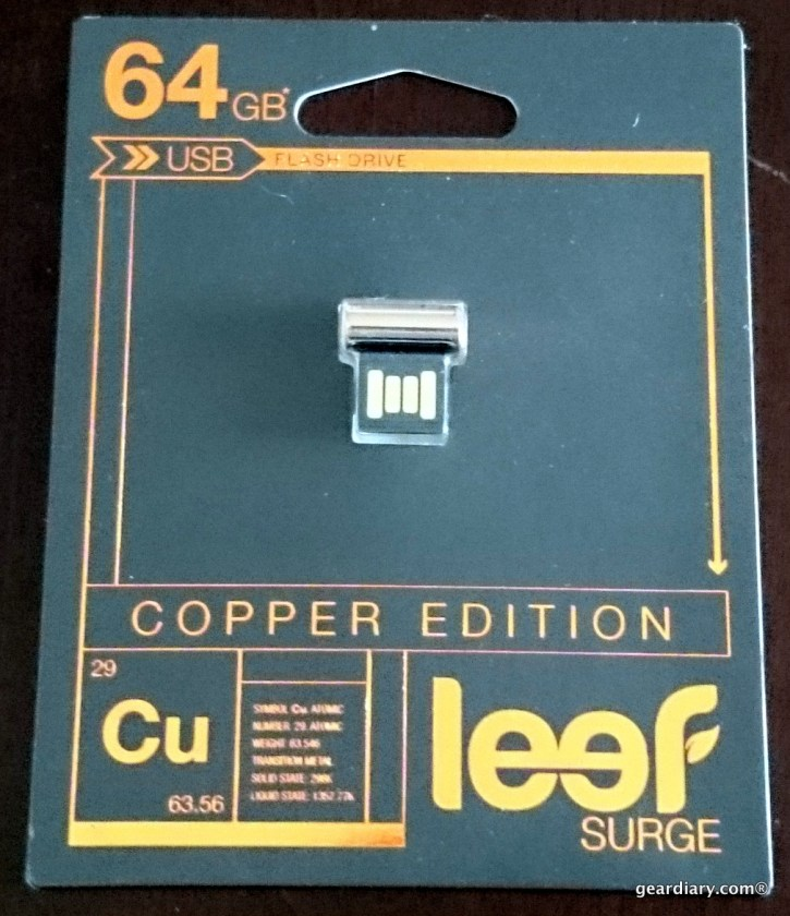 GearDiary Leef Copper Edition Surge 64GB USB Flash Drive.06