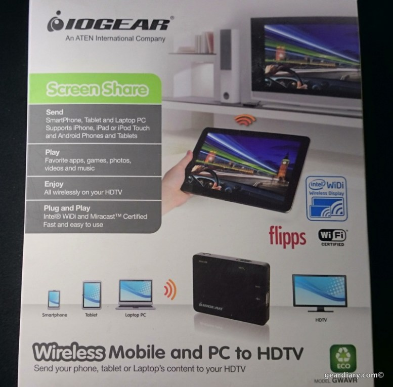 IOGEAR Wireless Mobile and PC to HDTV With WiDi and Miracast Review