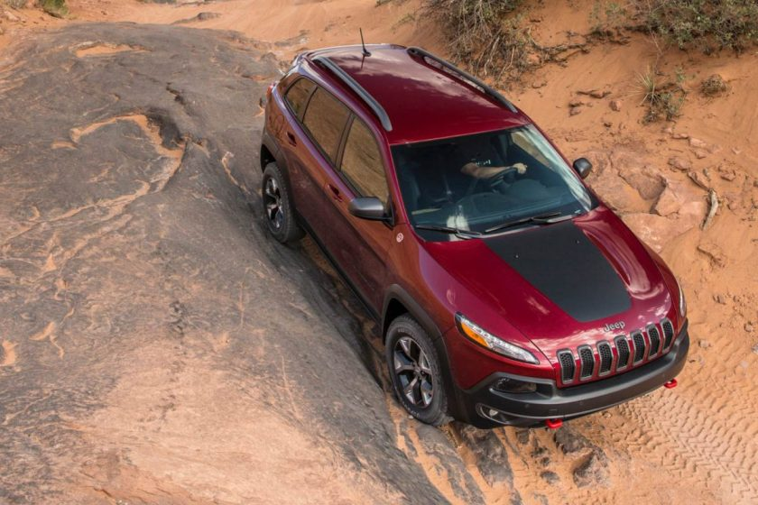 2014 Jeep Cherokee Trailhawk/Images courtesy Jeep