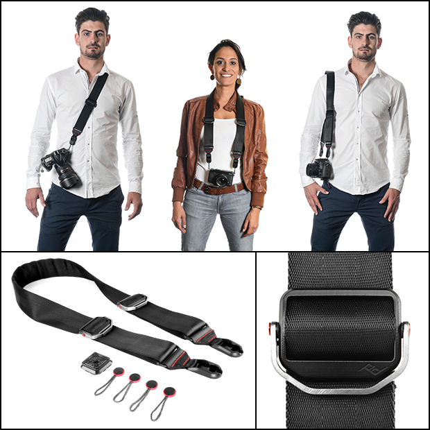 Slide and Clutch Versatile Camera Sling and Hand Strap by Peak Design  Kickstarter
