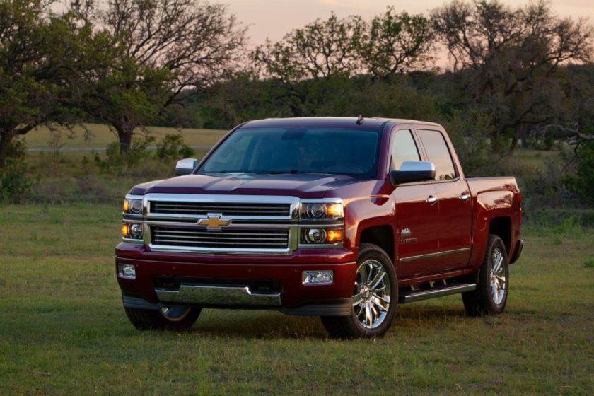 2014 Chevrolet Silverado 1500 High Country/Images courtesy Chevrolet