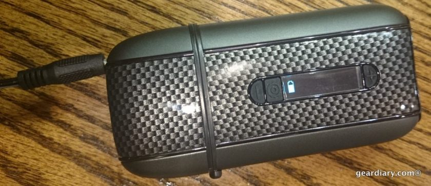 Gear Diary Reviews the Ascent DaVinci Vaporizer for Aromatic Oils and Herb Blends.32-001