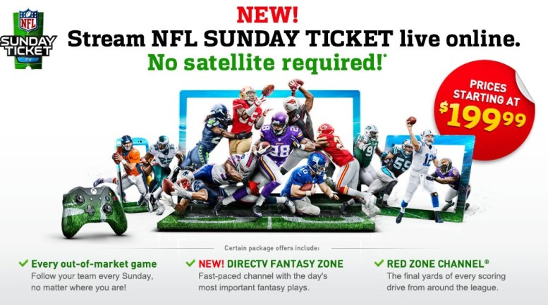 GearDiary DirecTV NFL Sunday Ticket Returns to Gaming Consoles