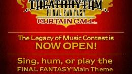 Theatrhythm Curtain Call Contest Celebrates Final Fantasy Music